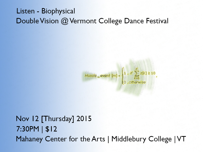 Listen Biophysical Middlebury